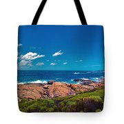 Western Australia Beach Panorama Margaret River Tote Bag