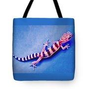 Western Banded Gecko Tote Bag