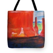 Western Canyon Tote Bag