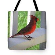 Western Cardinal Tote Bag