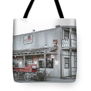 Western Carriage Stop Tote Bag