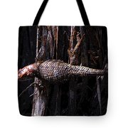 Western Fence Lizard Tote Bag