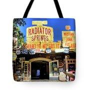 Western Junk Shop California Adventure  Tote Bag