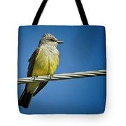 Western Kingbird Tote Bag
