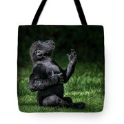 Western Lowland Gorilla Baby II Tote Bag