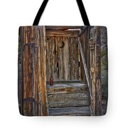 Western Outhouse Tote Bag