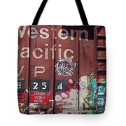Western Pacific Tote Bag