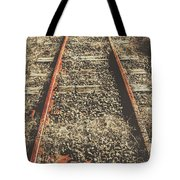 Western Railway Of Routes Forgotten Tote Bag