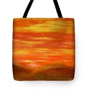 Western Skies Tote Bag