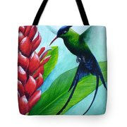 Western Streamertail Hummingbird Tote Bag