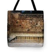 Empty Western Wall Tote Bag