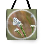 Western White Butterfly Tote Bag