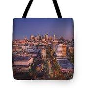 Westlake Los Angeles Aerial Tote Bag