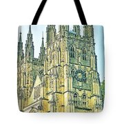 Westminster Abbey Postcard Tote Bag