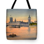Westminster And Big Ben  Tote Bag