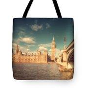 Westminster Big Ben Tote Bag