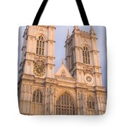 Westmintser Abbey Tote Bag