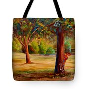 Westmount Park Montreal Tote Bag