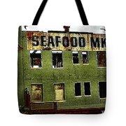 Westport Washington Seafood Market Tote Bag