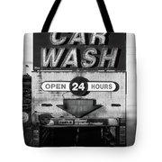 Westside Highway Car Wash Nyc Tote Bag
