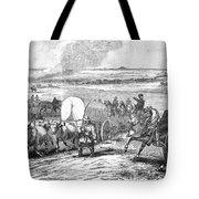 Westward Expansion, 1858 Tote Bag by Granger