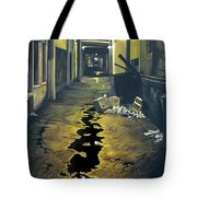 Wet Alley Tote Bag