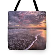 Wet Boots Tote Bag