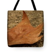Wet Leaf Tote Bag