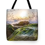 Wet Moss Tote Bag