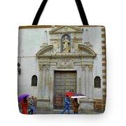 Wet People Door Cadiz Tote Bag