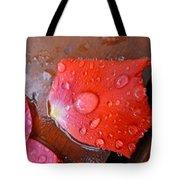 Wet Petal 1 Tote Bag