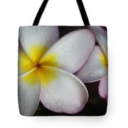 Wet Petals Tote Bag
