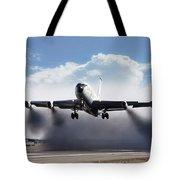 Wet Takeoff Kc-135 Tote Bag