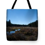 Wetlands In The Woods Tote Bag