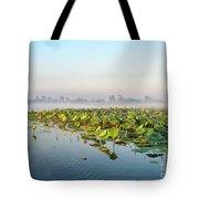 Wetlands Morning Mist  Tote Bag