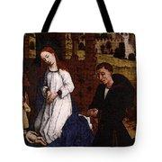 Weyden Bladelin Triptych     Tote Bag