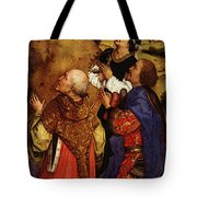Weyden Bladelin Triptych  Right Wing  Tote Bag