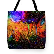 Whacked Out Quadrant Tote Bag