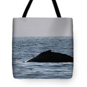 Whale Fin Tote Bag