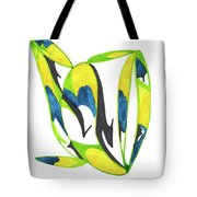 Whale Flow Tote Bag