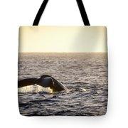 Whale Fluke Tote Bag