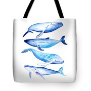 Whale Friends Tote Bag