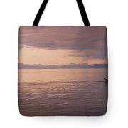 Whale Tail At Surface Tote Bag