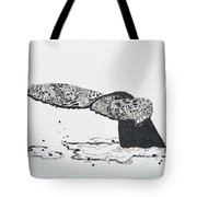 Whale Tail Tote Bag
