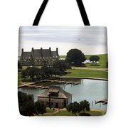 Whalehead Club And Boathouse Tote Bag