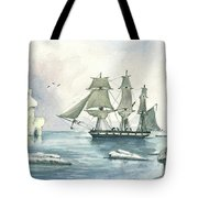 Whaler Tote Bag by Juan Bosco