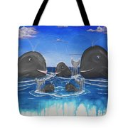 Whales Tail Waterfall Tote Bag