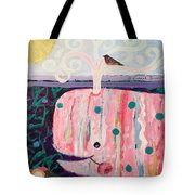 Whale's Tale The Beginning Of The End Tote Bag