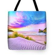 Wharariki Beach Tote Bag