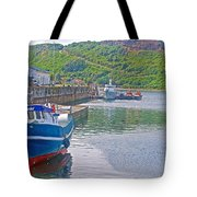 Wharf Near Angelmo Fish Market In Puerto Montt-chile  Tote Bag